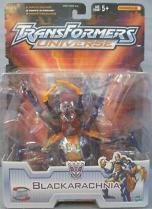 Transformers Universe Beast Wars Blackarachnia Female Spider Transmetals Hasbro