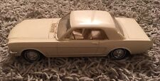 1965 AMT Promo White Car Ford Mustang