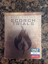 Maze Runner: The Scorch Trials (Blu-ray Disc, Includes Digital Copy Steelbook On