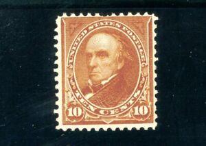 USAstamps Unused FVF US Serie of 1898 Webster Scott 283 OG MNH