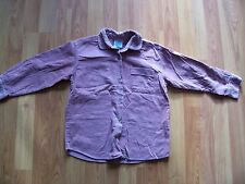 Pink fine needlecord long sleeve shirt from Adams, Age 6, 110cm