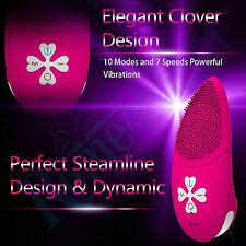 Leten Smart APP Control 10 Modes Silicone Sex Tongue Vibrators for Female Male