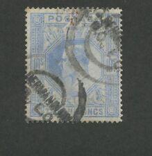 1902 Great Britain United Kingdom King Edward VII 10 Shilling Postage Stamp #141