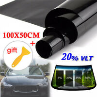 "5/% Limo Dark 20/"" x100/' Window Tint Film HP 2Ply HOME TRUCK AUTO VAN BOAT CAR"