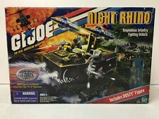GI Joe 2001 Night Rhino Vehicle With Box