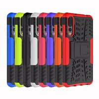 Slim Hybrid Rugged Armor Shockproof Hard Case Kickstand Cover For Huawei P20 Pro