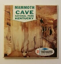 View-Master MAMMOTH CAVE NAT'L PARK Kentucky A846 - 3 Reel Set