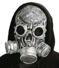Silver Bio Zombie Adult Costume Gas Mask