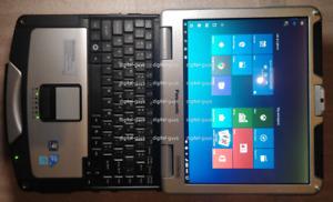 Panasonic Toughbook CF 31 Intel i5 2.4Ghz 4GB RAM 128GB SSD Windows 10 Pro