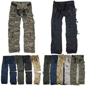 SURPLUS Raw Vintage - Royal Outback Royal Traveller Trousers Army Hose Qualität