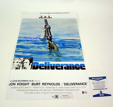 Jon Voight Signed Autograph Deliverance Movie Poster Beckett BAS COA