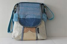 Leather bag with denim Vanstoel#165