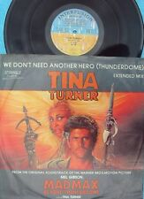 Tina Turner ORIG OZ PS 12 We don't need another hero (Thunderdome) Ext. mix EX