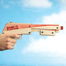 Bandit Guns Blaster Maximus DIY Wooden Rubber Band Shooter Pistol Gun Toy Kit