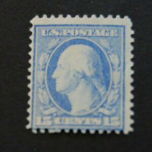 1909, US Scott 340, 15 cent, Pale Ultramarine, Mint Never Hinged