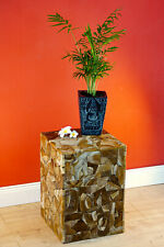 Teak Wood Side Table Flower Stand Podium Root Wood Table Flower Stand Square