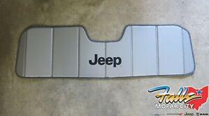 1997-2021 Jeep Wrangler TJ JK JL JT Gladiator Interior Windshield Sun Visor OEM
