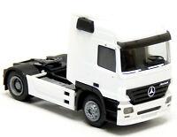 Herpa MB Mercedes Benz Actros MP2 SZM Sattel Zugmaschine weiß neutral 1:87 H0