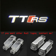 Audi TTRS 2X LED Light 3D Logo Projector Emblem Ghost Shadow Door Welcome Light