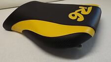 YAMAHA 99 00 01 02 YZF R6 FRONT SEAT COVER black/yellow