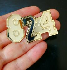 """Kobe Bryant  """"Get Yours on 8/24/2020 Special Promotion! Lapel Hat Pins Gold 8/24"""