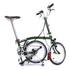 Aluminium Rear Rack for Brompton bike ( Third Party ) IN BLACK--FREE UK DELIVER