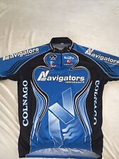 Colnago , Navigators Insurance Cycling Team 2005 Ss Cycling Jersey Size:Xl Used