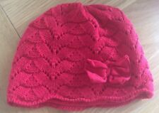 Girls Red Next Hat Size 6-12 Months