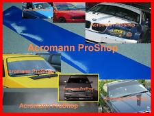 "53""135 Blank Plain Windshield Sunstrip Decal Sticker Banner Visor Windscreen Car"