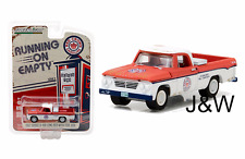 Greenlight Dodge D100 Longbed with Tool box 1962 Red Crown Gasoline 41020 A 1/64