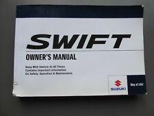 SUZUKI SWIFT 3 5 DOOR /& SPORT OWNERS MANUAL HANDBOOK WALLET 2010-2013 REF M-188