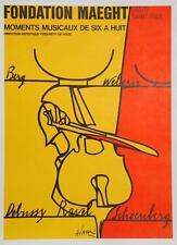 Fondation Maeght Moments Musicaux de Six a Huit - Valerio Adami Art Print Poster