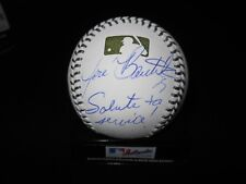 JOSE BAUTISTA SIGNED RAWLINGS OFFICIAL MEMORIAL  DAY BASEBALL w/INSCRIPTION-JAYS