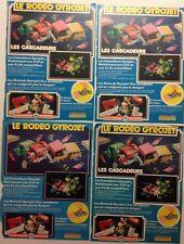 LOT PUBLICITES ANNEES 70 JOUET MECCANO // LES CASCADEURS GYRO JET
