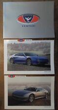 VENTURI ATLANTIQUE orig 1993 Glossy Folder with 2 Leaflet Brochures - 300