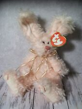 "B1  Ty Attic Treasures, Plush Bunny, Rabbit, ""Blush"", Pink, Sweetheart - 10"""