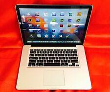 "15"" MacBook Pro  QUAD i7 TURBO + 3.3Ghz + 16GB + 2TB SSHD + Edit-Compose-Design"