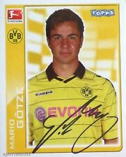Topps 201/11 MARIO GOTZE Borussia Dortmund ROOKIE sticker MINT