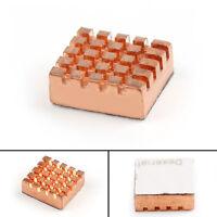 Disipador de calor Cobre Calor Lavabo Enfriador Kit Para Raspberry Pi 3 Modelo B