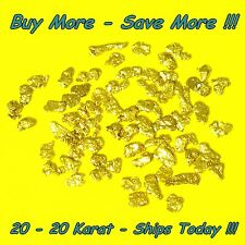 .500 Gram Alaskan Placer Gold Nuggets Flakes Fines Alaska Bering Sea Natural Raw