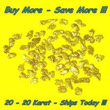 .500 Gram Alaskan Placer Gold Nuggets Flakes Fines Alaska Bering Sea Natural Raw