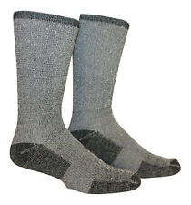 Bamboo   Hiking Socks (Pack of2) - Made in USA  Medium charcoal