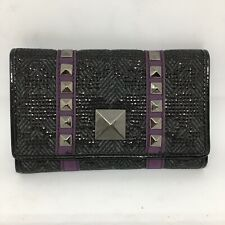 Iron Fist Tough Rider Wallet 4x6 Inch Purple Black Gray New In Package