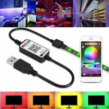 1M-5M 5050RGB LED Strip Light SMD Wireless Bluetooth Control Lights USB Powered