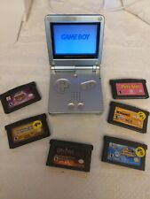 Gameboy Advance SP AGS 101 graphite, 6 Game Bundle  bn8