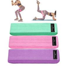 3PCS/Set Workout Resistance Bands Loop Set Fitness Yoga Booty Leg Exercise Band