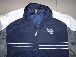 Reebok Tennessee Titans NFL Football Sports illustrated Lightweight Jacket XL