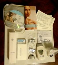 NEW NU SKIN White Galvanic Spa System II DVD Instructions Gels & Attachments