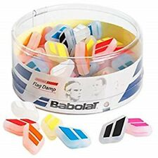 50 PACK: BABOLAT FLAG DAMP COLOR VIBRATION DAMPENERS FOR TENNIS RACQUETS