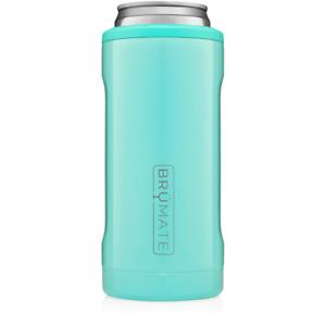 NEW Brumate Hopsulator Slim Can Cooler Tumbler 12 oz Drink Holder Aqua